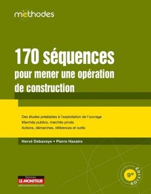 170 séquences pour mener une opération de construction - le moniteur - 9782281118827 -