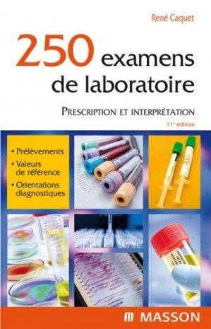 250 examens de laboratoire-elsevier / masson-9782294710339