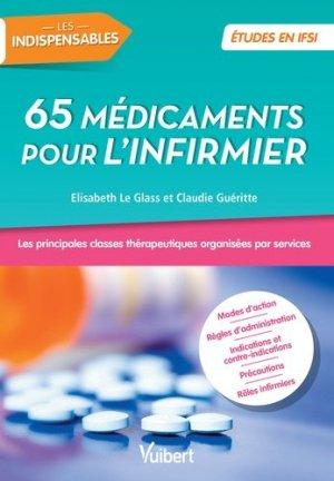 65 médicaments pour l'infirmier - vuibert - 9782311660517 -