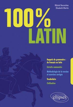 100% latin - Ellipses - 9782340005969 -