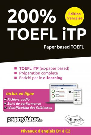200 % TOEFL ITP - ellipses - 9782340025110 -