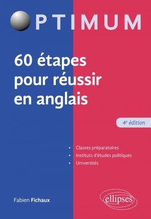 60 étapes pour réussir en anglais - ellipses - 9782340025936 -