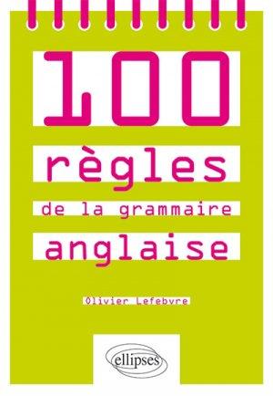100 règles de la grammaire anglaise - ellipses - 9782340027909 -
