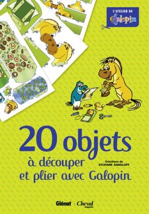 20 objets à découper et à plier avec Galopin - glénat / cheval magazine - 9782344000977 -