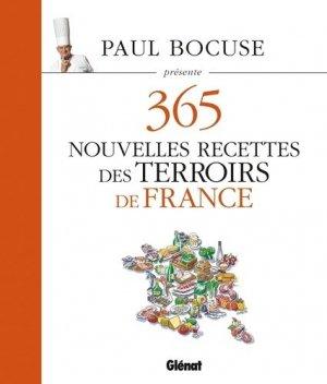 365 nouvelles recettes des terroirs de France - Glénat - 9782344010945 -