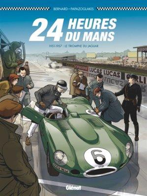 24 Heures du Mans - 1951-1957 - glenat - 9782344028926 -