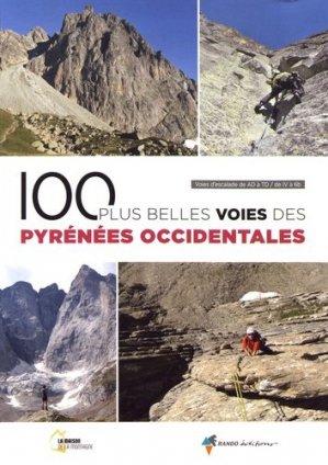 100 plus belles voies des Pyrénées Occidentales - rando - 9782344032039