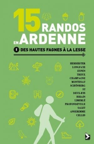 15 randos en Ardenne - gerfaut - 9782351912508 -