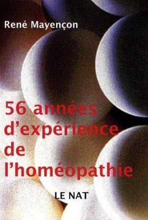 55 Années d'expérience de l'homéopathie - Editions Dualpha - 9782353741045 -