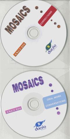 2nde Bac Pro Agricole Anglais Mosaics Cd audios de dialogue+CDRom de corrigés - doceo - 9782354970826 -