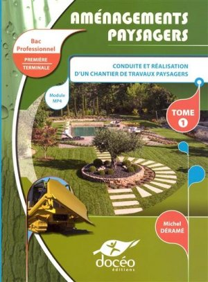 1re-Terminale - BAC PRO AGRICOLE - TRAVAUX PAYSAGERS - doceo - 9782354971557 -