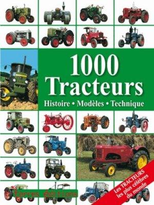 1000 tracteurs - terres - 9782355301506 -