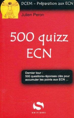 500 quizz ECN - s editions - 9782356400383