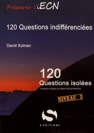 120 questions indifférenciées - s editions - 9782356401908 -