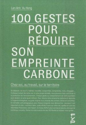 100 gestes pour réduire son empreinte carbone - fyp - 9782364051959 -