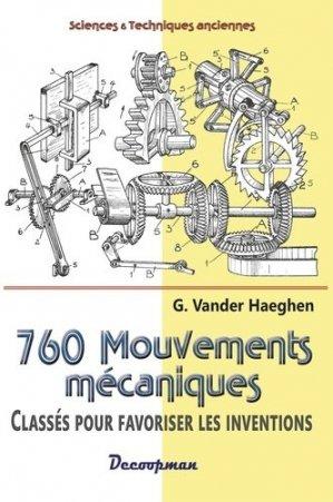 760 mouvements mécaniques - decoopman - 9782369650348 -