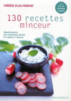 130 recettes minceur - Marabout - 9782501052412 -