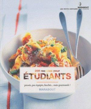 200 recettes pour étudiants - Marabout - 9782501067942 -