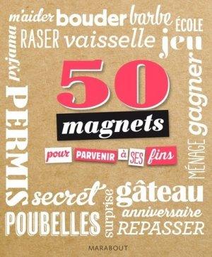 50 magnets pour parvenir à ses fins - Marabout - 9782501099653 -