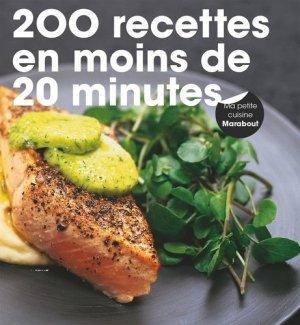 200 recettes prêtes en moins de 20 minutes - Marabout - 9782501101905 -