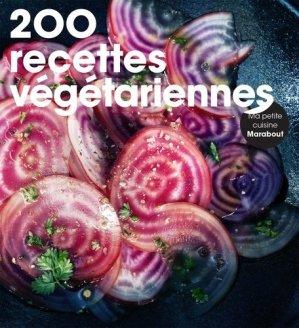200 recettes végétariennes - Marabout - 9782501109741 -