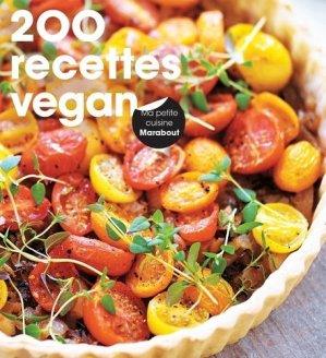 200 recettes vegan - Marabout - 9782501109765 -