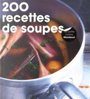 200 recettes de soupes - Marabout - 9782501112529 -