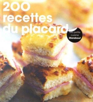 200 recettes du placard - Marabout - 9782501112536 -
