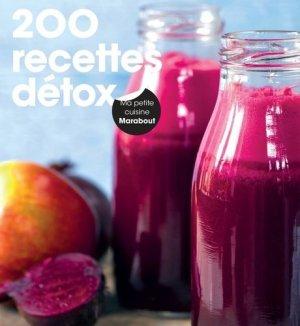 200 recettes détox - marabout - 9782501118927 -