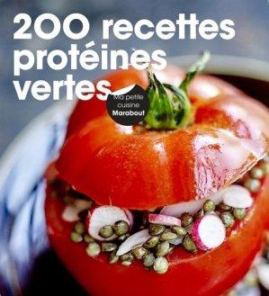 200 recettes de protéines vertes - Marabout - 9782501118958 -