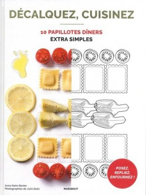 10 papillottes dîners extra simples - Marabout - 9782501129442 -