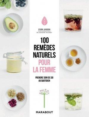 100 remèdes naturels pour la femme - marabout - 9782501144131