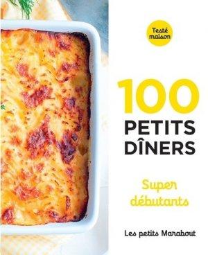 100 petits dîners super débutants - Marabout - 9782501148948 -