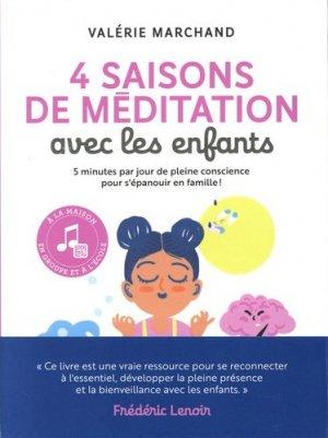 4 saisons de méditation avec mon enfant - marabout - 9782501149549 -