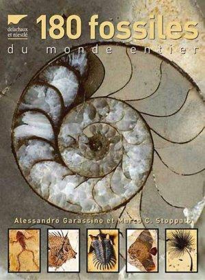 180 fossiles du monde entier - delachaux et niestle - 9782603013731 -