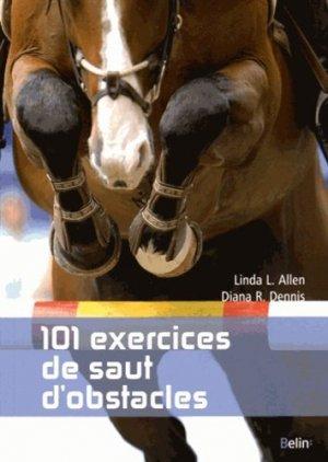 101 exercices  de saut d'obstacles - belin - 9782701195155 -