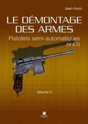 Le démontage des armes - crepin leblond - 9782703004486 -