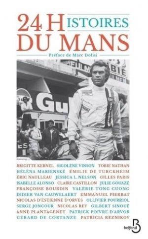 24 histoires du Mans - Belfond - 9782714476272 -