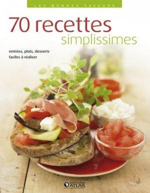 70 recettes simplissimes - Glénat - 9782723476201 -