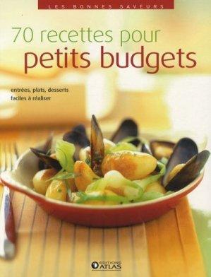 70 recettes pour petits budgets - Glénat - 9782723478069 -