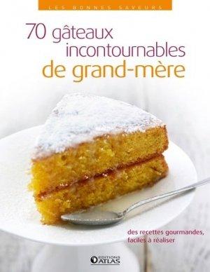 70 gâteaux incontournables de grand-mère - Glénat - 9782723493857 -