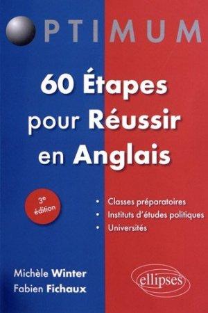 60 étapes pour Réussir en Anglais - ellipses - 9782729873783 -