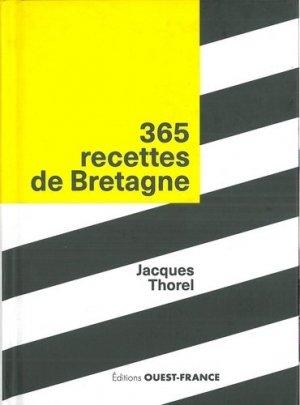 365 recettes de Bretagne - Ouest-France - 9782737373114 -
