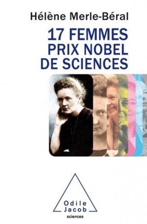 17 femmes prix Nobel de sciences - odile jacob - 9782738134592 -