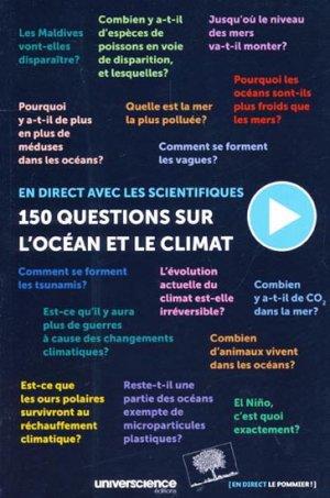 150 questions sur l'océan et le climat - le pommier / universcience éditions - 9782746506435 -