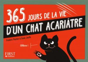 365 jours de la vie d'un chat acariâtre - first editions - 9782754076548 -