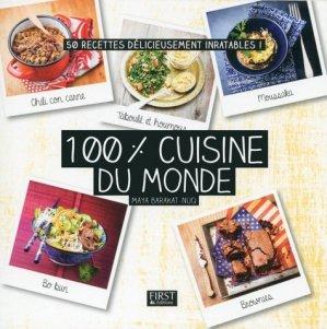 100 % cuisine du monde - first editions - 9782754083775 -