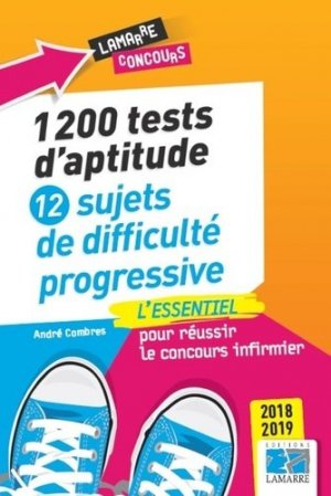 1200 tests d'aptitude - lamarre - 9782757309759 -