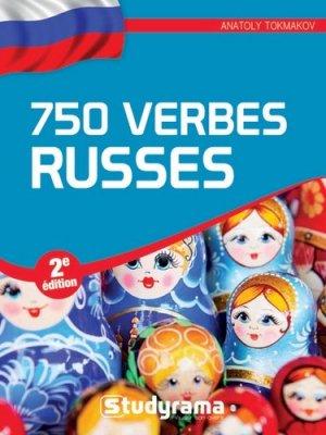 750 verbes russes - Studyrama - 9782759036943 -
