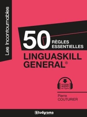 50 règles essentielles Linguaskill general - studyrama - 9782759040155 -